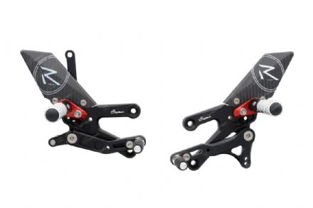 LighTech Yamaha YZF R3 2015> 'R' Version Adjustable Rearsets